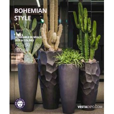 Bohemian pot smooth gloss color