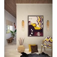 AFRICAN KNICKKNACK  CANVAS