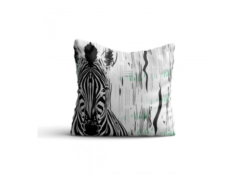 AFRICAN STRIPES WILDLIFE CUSHION