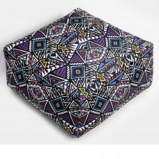 Sharp Bohemian Pattern Pouf
