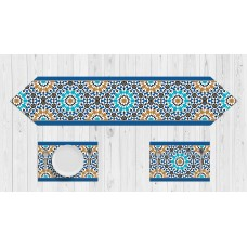 Morocco Islamic Flower Table Set