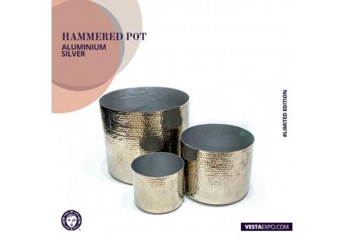 Hammered Pot