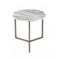 Coffee table marble and metal