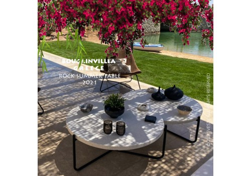 Terrazzo table 2 outdoor