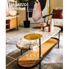 terrazzo centerpiece